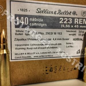 .223 Rem FMJ Sellier&Bellot