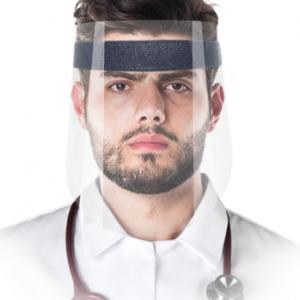 Mehrweg-Gesichtsschirm - Schutz-Visier zur Prävention von Infektionen