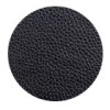 Schwarz Leder Optik